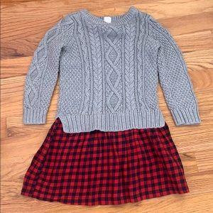 Gap toddler sweater dress